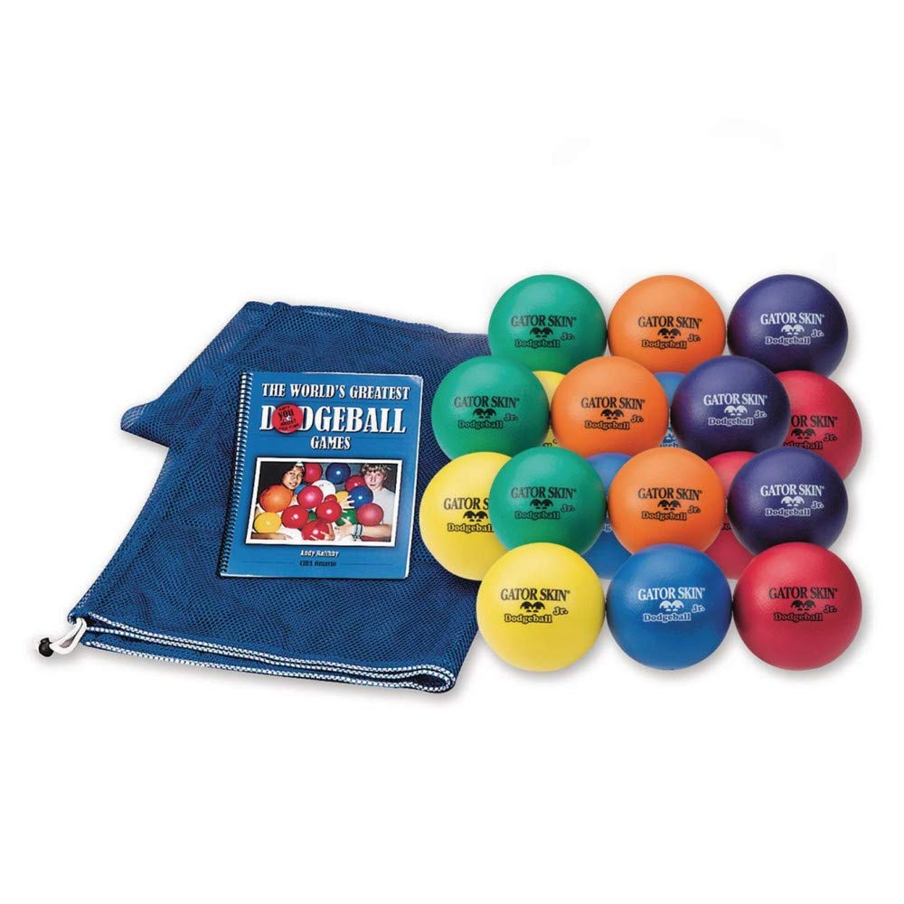 S&S Worldwide Early Elementary Gator Skin Dodgeball Easy Pack by S&S Worldwide