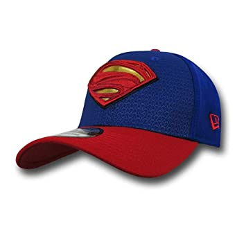 Batman Vs Superman Superman Symbol 3930 Hat at Amazon Mens Clothing store: