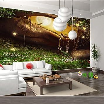 Tantoto 3D Wallpaper Nahtlose Kind Zimmer Große Wandbilder 3D ...