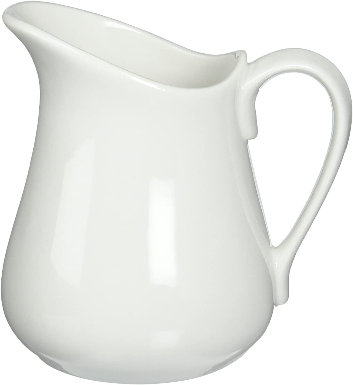 White 16 oz Bia Cordon Bleu pitcher