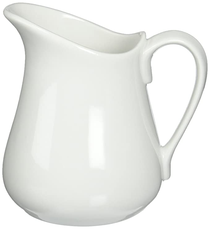 Bia Cordon Bleu Inc Bia Cordon Bleu Inc 900145 16 Oz White Porcelain Pitcher, White