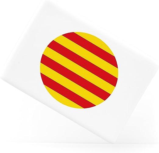 Catalunya Catalan Flag Bandera Català Spanish Española Catalán Imán para refrigerador de cerámica: Amazon.es: Hogar