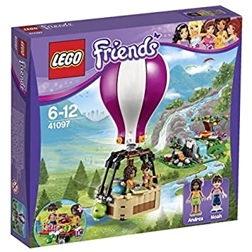 LEGO 41097 Friends Heartlake Hot Air Balloon Set: Amazon.co.uk: Toys ...