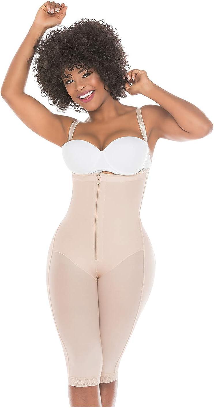Lowla Silueta Open Back Shapewear Fajas Abdomen Control Shirt Flat ABS Body Suit