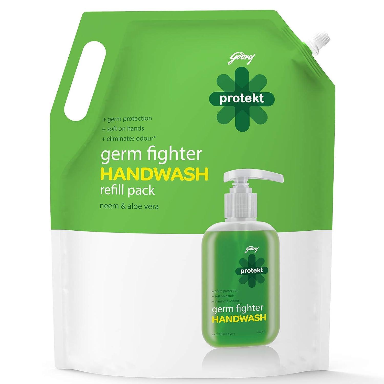 Godrej Protekt Germ Fighter Handwash Refill – 1.5 L
