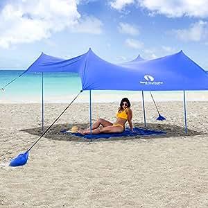 Amazon.com: Red Suricata Family Beach Sunshade - Sun Shade