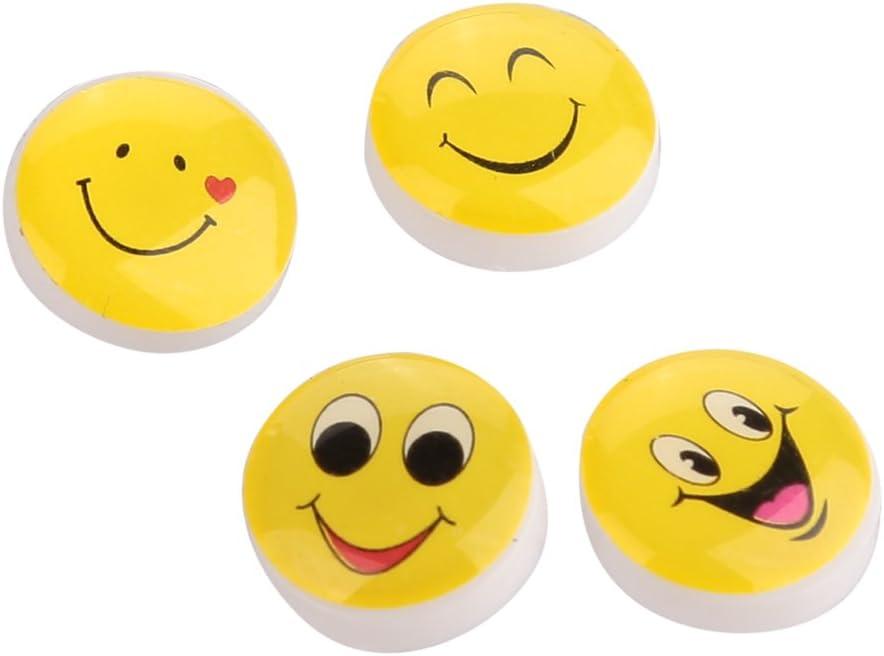 Kakaxi Tm Mignon Smiley Emoticone Punaises Tete En Plastique Punaises Punaise Pour L Ecole La Maison Et Le Bureau 50 Pcs Amazon Fr Fournitures De Bureau