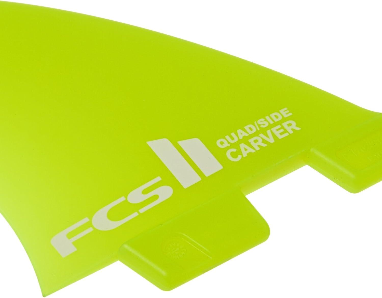 FCS II Carver Neo Quad en verre petit c/ôt/é arri/ère Bite Palmes Planche de surf