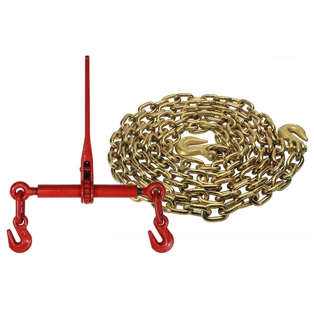 Grade 70 5/16'' x 20' Chain - Ratchet Binder Kit