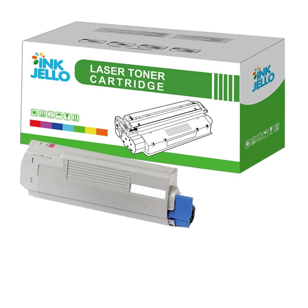InkJello - Cartucho de tóner compatible con Oki C5850 C5850dn ...