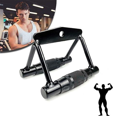 V Handle Gym Attachment Grip Pull Bar Strength Training Fitness Sport