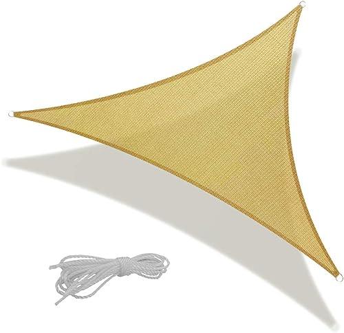 REPUBLIC SUN 16' x 16' x 16' Sun Shade Sail Equilateral Triangle Canopy