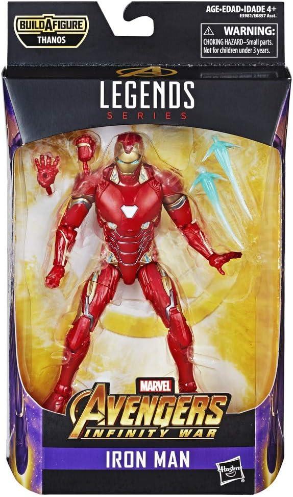 Marvel Classic Legends Series Avengers: Infinity War 6 Inch Iron Man Figure (Hasbro E3981CB0)