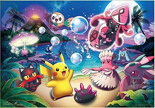 Pokémon Jigsaw Puzzle Akala Moonlight 1000pcs (1000T-107)