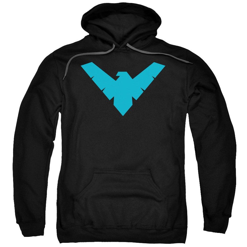 Batman DC Comics Nightwing Symbol Adult Pull-Over Hoodie Trevco