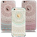 iPhone 6S Plus Case, iPhone 6 Plus Case,RorSou Slim Fit[Crystal Clear][Scratch Resistant]Flexible Grip Soft TPU Protective Cover With 1 Earphone Dust Plug For Apple iPhone 6S Plus 5.5 inch(3 Pack)
