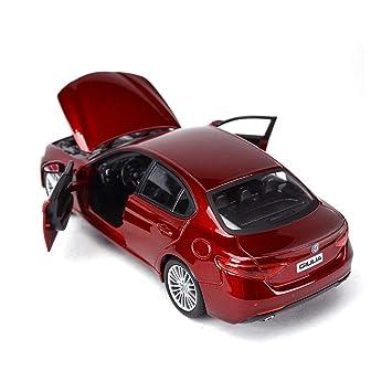 Liufs Voiture En Alliage Modèle Alfa Romeo Giulia De Cadeau