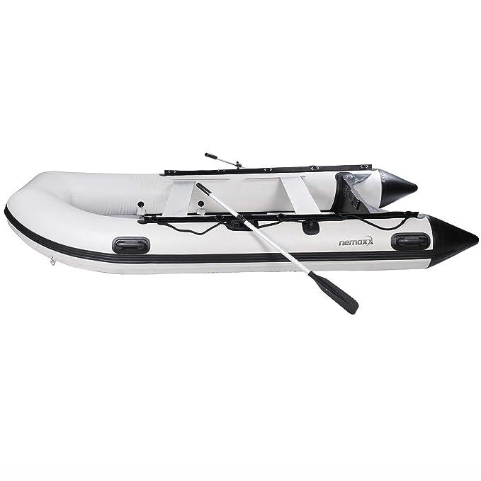 Nemaxx Canoa Hinchable Profesional 380 cm para 6+1 Personas ...