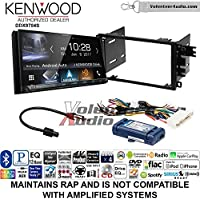 Volunteer Audio Kenwood DDX9704S Double Din Radio Install Kit with Apple Carplay Android Auto Fits 2000-2005 Buick LeSabre, 2000-2005 Pontiac Bonneville (With Bose)