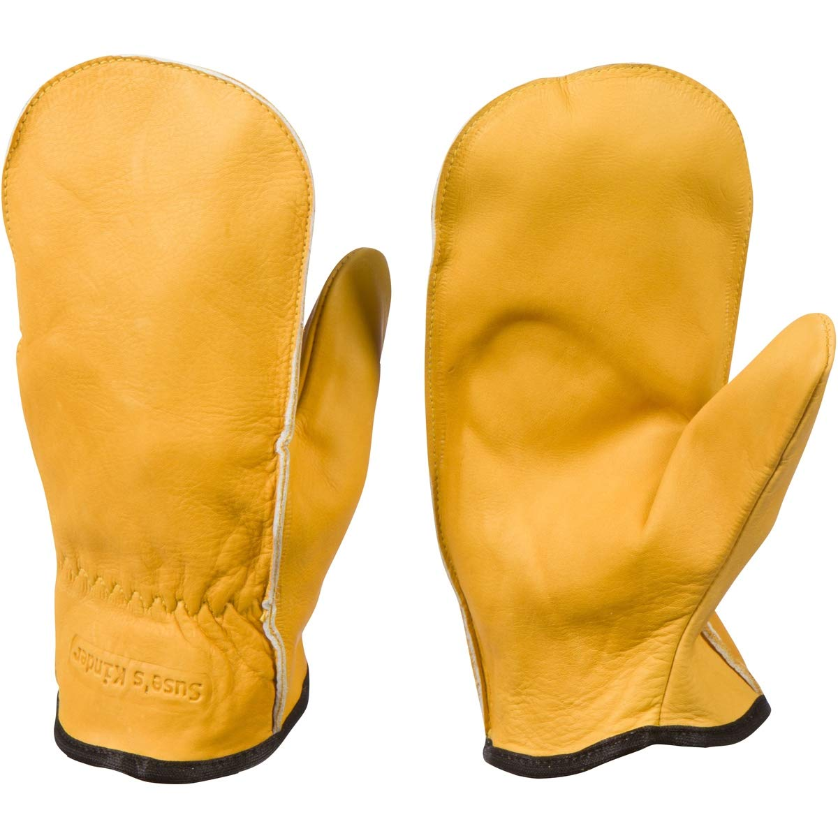 Chopper Mittens, Top Grain Cowhide, Unlined Pair of Mitts