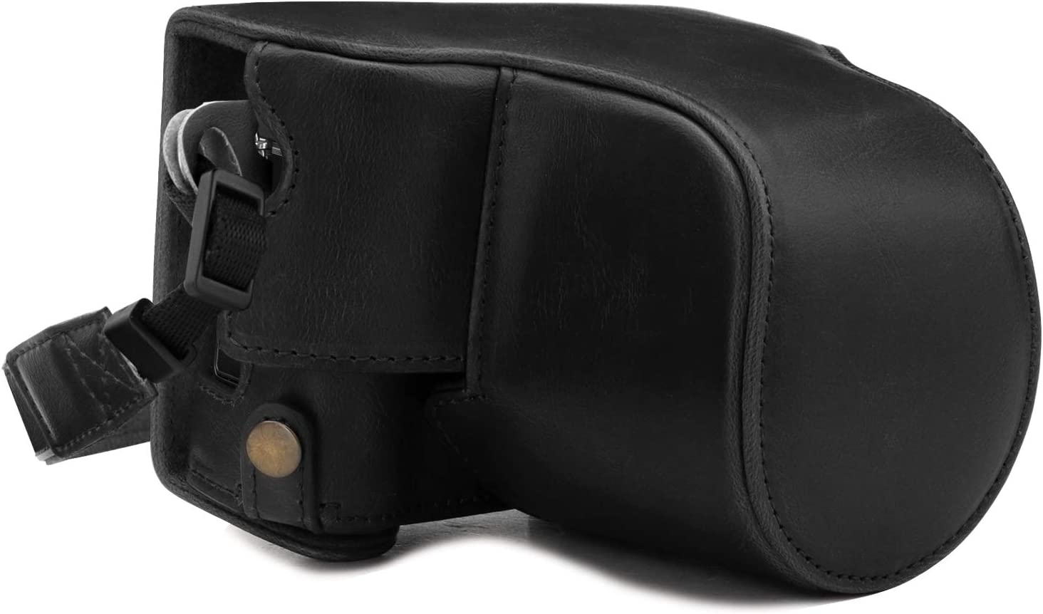 MegaGear Ever Ready Leather Camera Case Compatible with Fujifilm X-A7