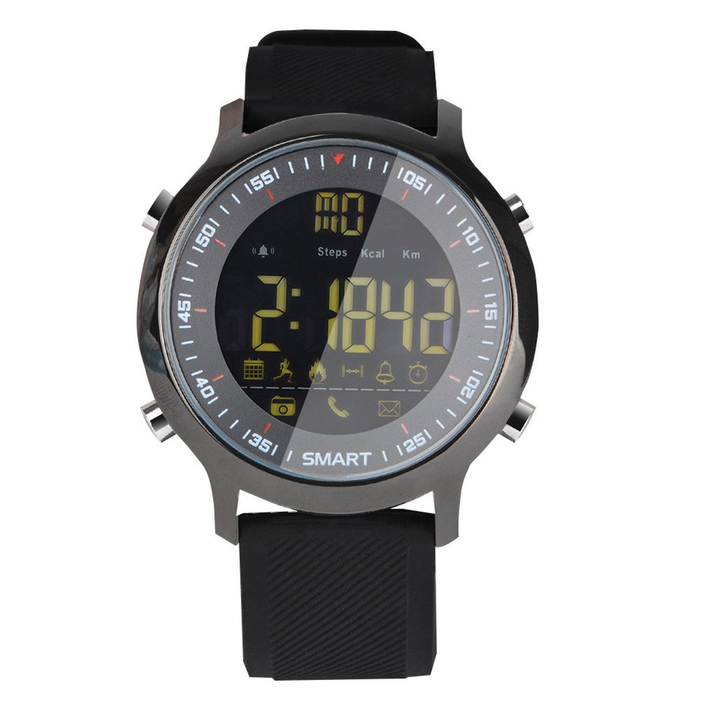 Gentman EX18 Smart Watch 5ATM Waterproof Bluetooth 4.0 Call SMS Reminder Pedometer Sleep Monitor Sport Watch Activity Tracker for Android iOS