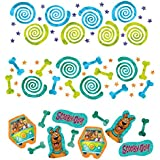 Amscan Awesome Scooby-Doo Value Confetti Birthday Party Decoration, 1.2 oz, Teal/Purple/Green