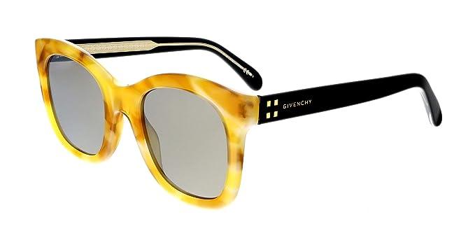 Amazon.com: Gafas de sol Givenchy GV 7103 /S 0SCL Amarillo ...