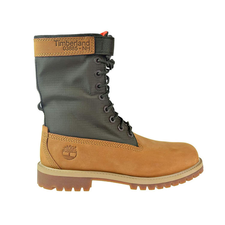 Timberland 6 Gaiter Boot Big Kids Shoes Wheat tb0a1vfz
