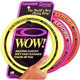 "Aerobie Sprint Flying Ring, 10"" Diameter, Assorted Colors, Set of 3"