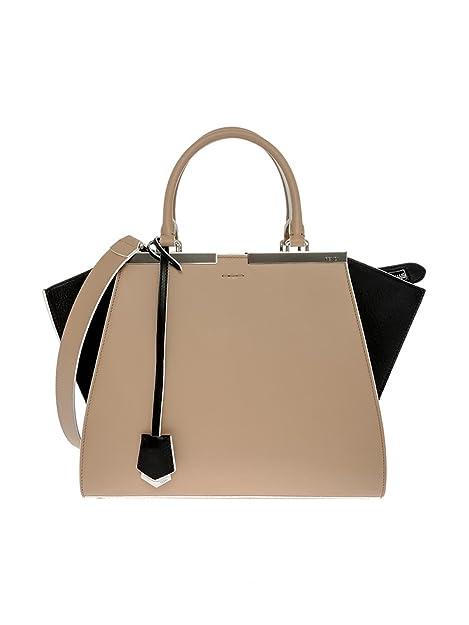 ff34b8141ee Fendi 3 Jours Small Leather Shopper Handbag 8BH279 5R4 F0Z6C: Amazon.ca:  Shoes & Handbags