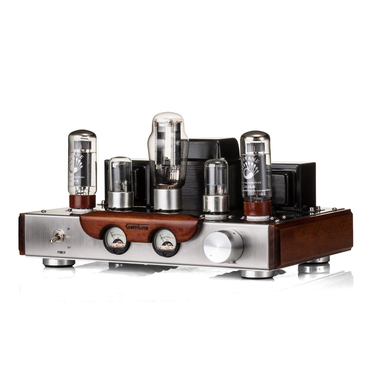 Gemtune GS01-M Class-A Amplificatore integrato Hi-Fi per tubo vuoto w// Tube 2XEL34B 2X6N9P 1X5Z3P /…