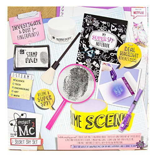 MC2 Pretend Play Super Spy Set by Horizon Group USA Arts and Crafts Activity Kit