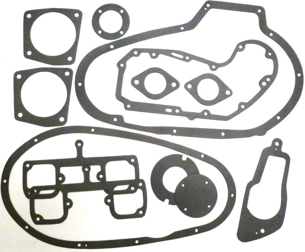 M-G 330X100K-1 Cam Chest /& Cap Cover Gasket for Harley Davidson Sportster