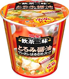 Myojo Dim Sum Zanmai thickened soy sauce Wonton vermicelli soup 25g ~ 6 pieces