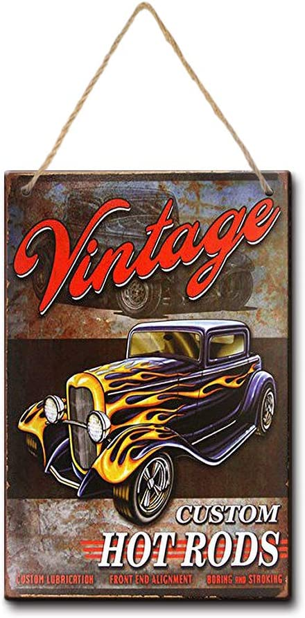 LPLED Legends Hot Rod Garage Rat Rods Gas Vintage Retro Wall Decor (Y3047)