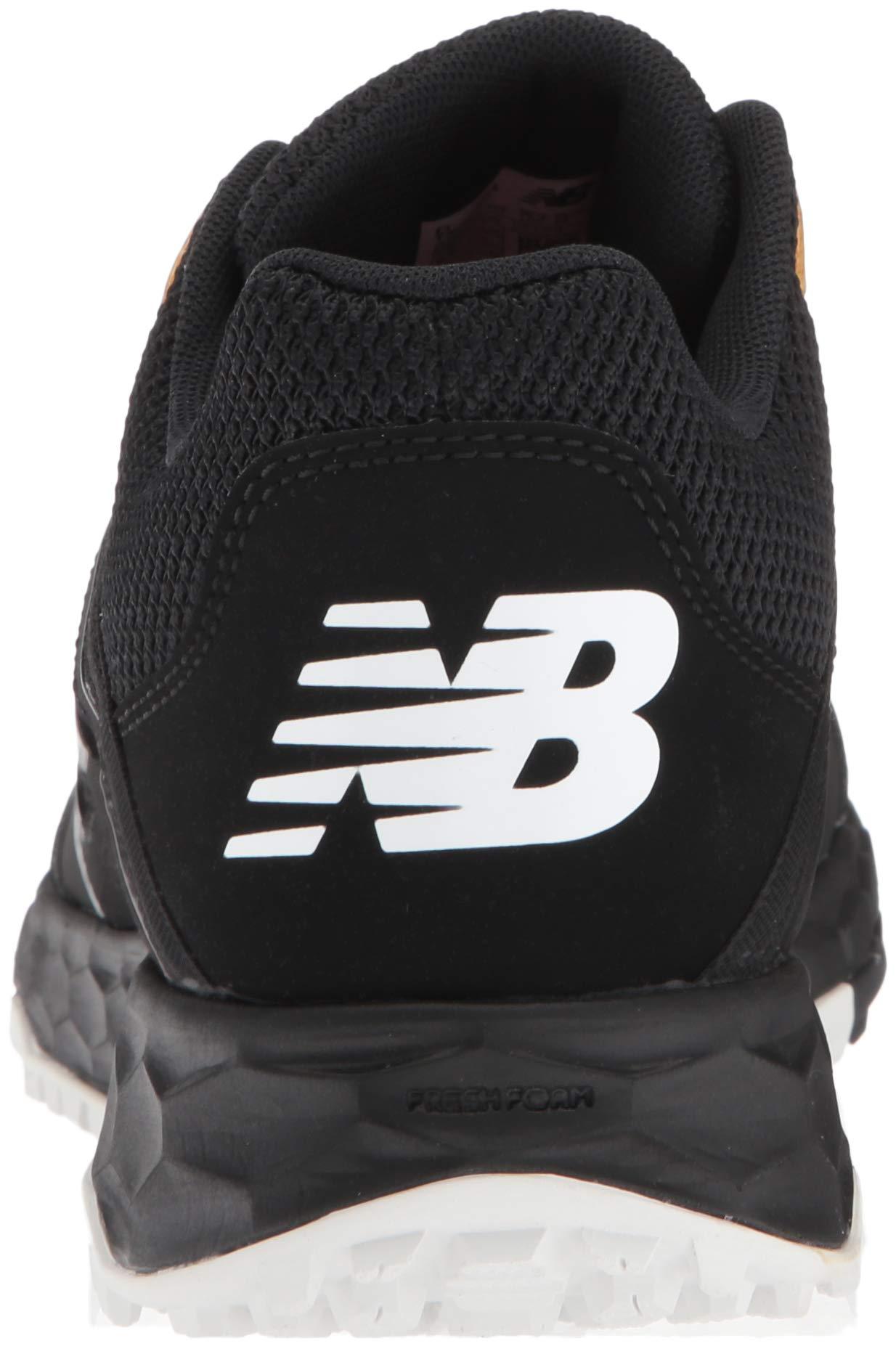 New Balance Men's 3000v4 Turf Baseball Shoe, Black, 5 D US by New Balance (Image #2)