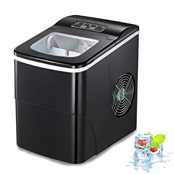 Aglucky Countertop Automatic Portable Ice Maker