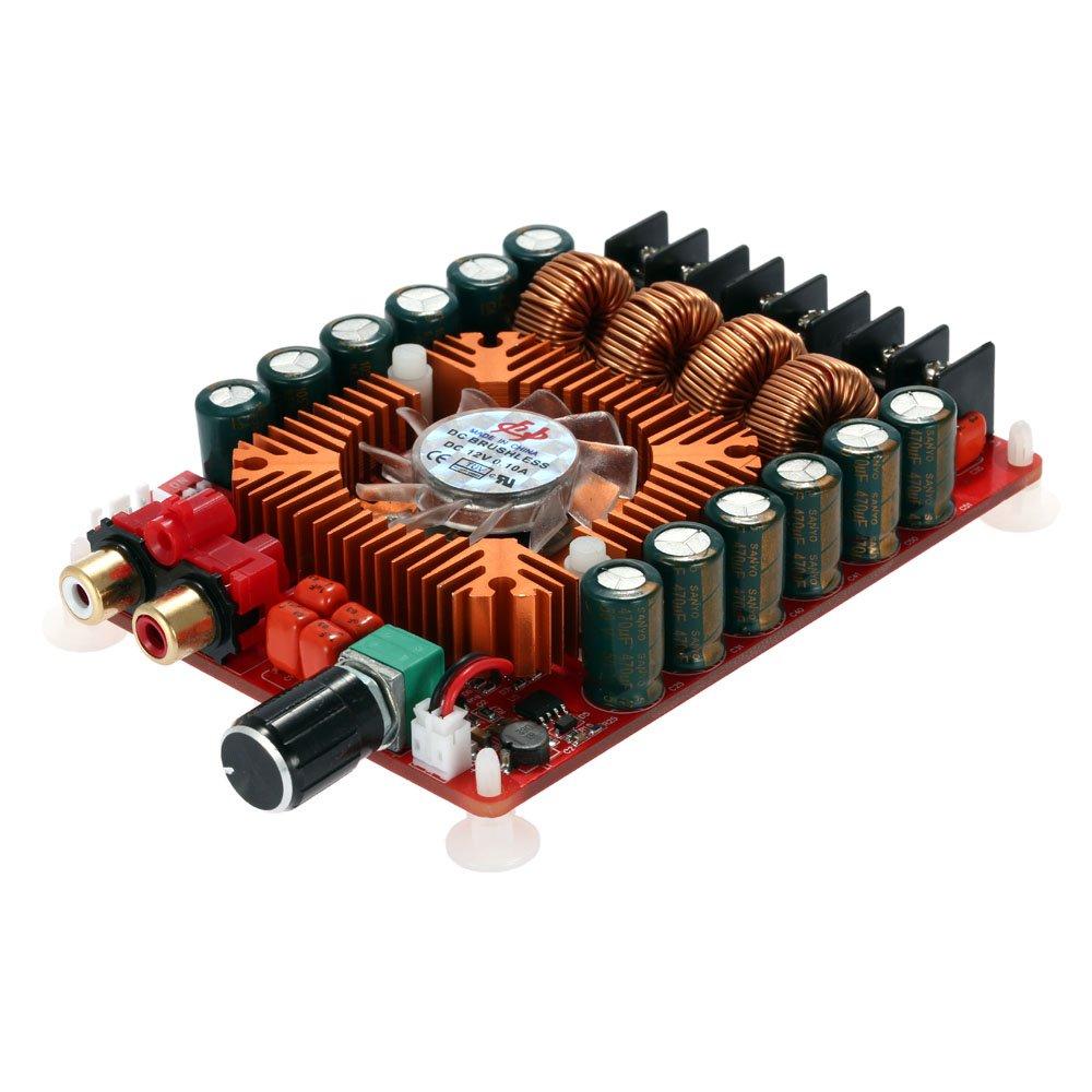 KKmoon TDA7498E 2*160W Scheda Amplificatore Digitale Modulo Amplificatore, Doppio Canale Audio Stereo Supporta BTL Modalità Mono 220W Doppio Canale Audio Stereo Supporta BTL Modalità Mono 220W