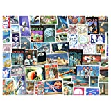 Space : 100 Different Stamps Collection Mixture Packet Stamps for Collectors