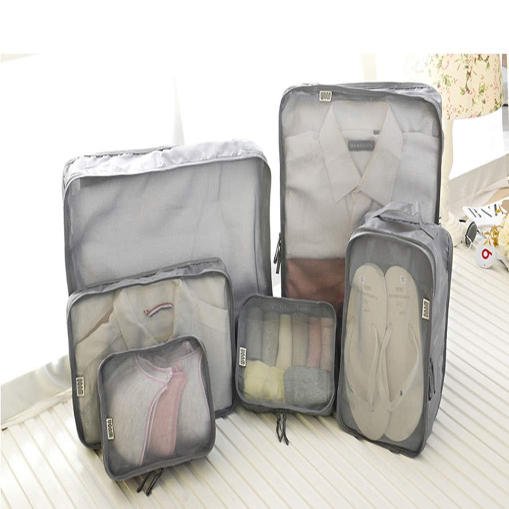 0f9d0e9eeee1 Amazon.com: Sarazong Packing Cubes 6 Set,Travel Luggage Organizer ...