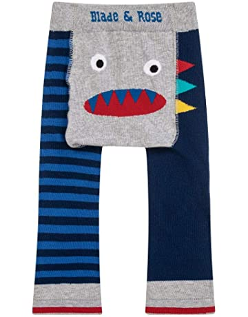 12-24 Months ZIGGLE Knitted Baby Leggings with Penguin on Bottom 12-24 Months 6-12 Months 12-24 Months