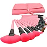 Makeup Brushes Make up Brushes Professional Wool Cosmetic Makeup Brush Set Kit--24 PCS