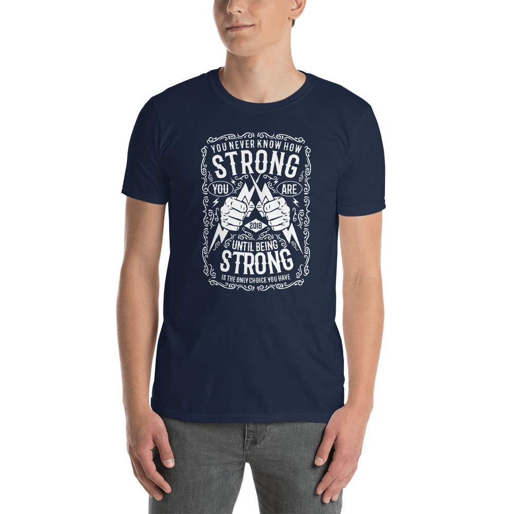 DR-MASTERMIND Strong Short-Sleeve Unisex T-Shirt