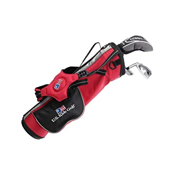 Amazon.com: US KIDS UL 39 Rojo Club Junior Set palos de golf ...