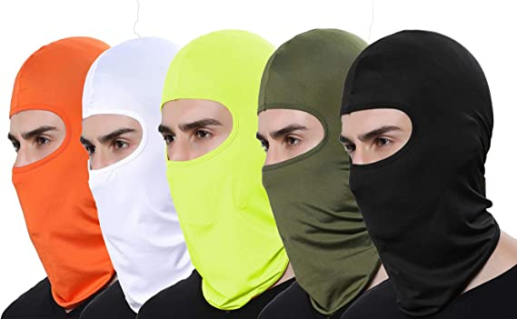 GANWAY Pack of 2 Winter Ski Mask Balaclavas Motorcycle Face Mask Scarf Outdoor Snowboard Hat