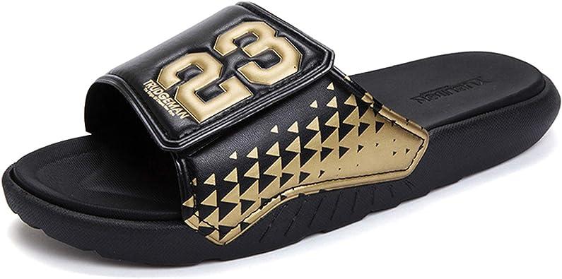 Athletic Adjustable Slide Sandals