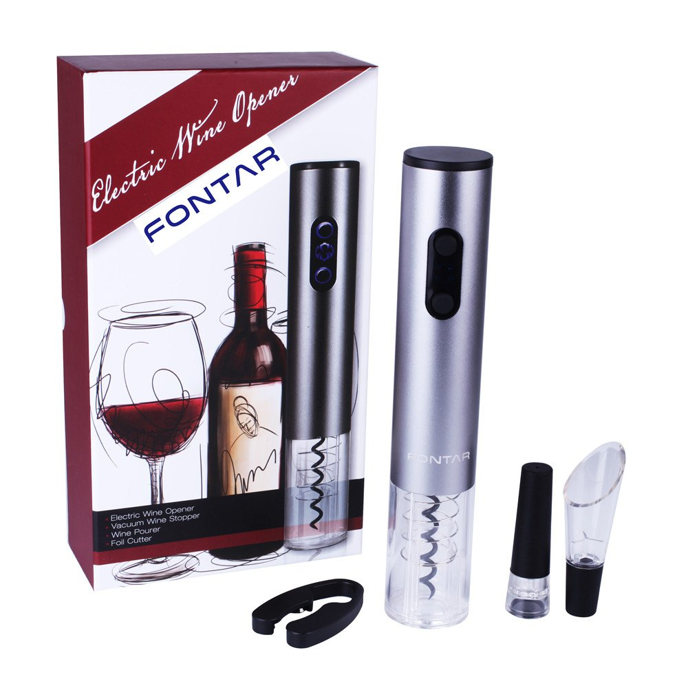 pics An electric wine opener that makes drinking wine even better