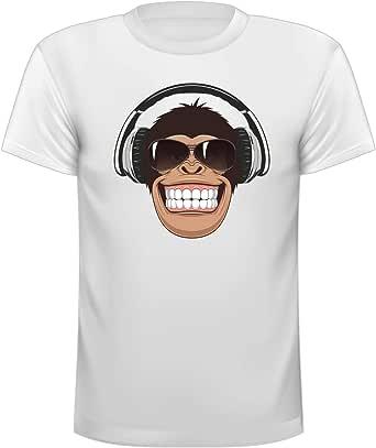 White Cotton Round Neck T-Shirt For Unisex
