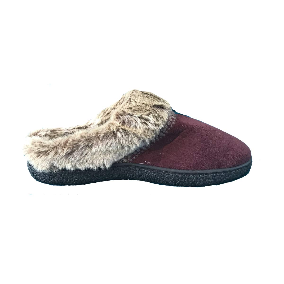 ISOTONER Women's Microsued Hoodback Slipper